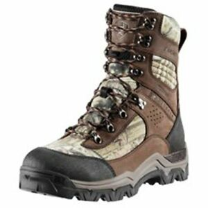 """Ariat Mens Tracker H2O 8"""" Insulated Camo Hunting Boots #10011975 Med & Wide Size"""
