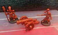 Mighty Cannon & Crew Battle Masters Imperial Reinforcements New Games Workshop