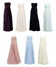 Debut Polyester Sleeveless Bridesmaid Dresses