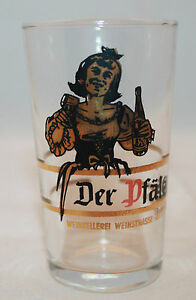 Der Pfalzer Weinkellerei Weinstrasse Ritter.o.H.G. Albersweilwe Shot Glass Rare