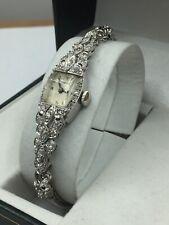 Geneva Platinum Ladies watch 36 Diamonds Running