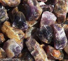 1 LB BANDED AMETHYST  Rough Rock for Tumbling Tumbler Stones 2200+ CARATS