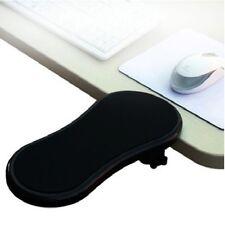 Black PC Computer Laptop Arm Wrist Rest Desk Table Pad Support Forearm Armrest S