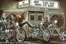 Dave David Mann Biker Art Motorcycle Poster Print Easyriders Damn Sporty
