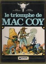 mac coy  tome 4  LE TRIOMPHE DE  MAC COY   dargaud 1976