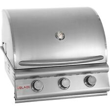 Blaze 25 Inch 3 Burner Built In Grill BLZ-3-NG  WE WILL BEAT ANY PRICE!!!!