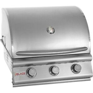 Blaze 25 Inch 3 Burner Built In Grill BLZ-3-LBM- LP  WE WILL BEAT ANY PRICE!!!!