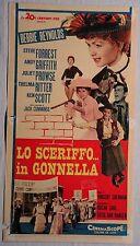 Locandina LO SCERIFFO IN GONNELLA 1962 DEBBIE REYNOLDS STEVE FORREST KEN SCOTT