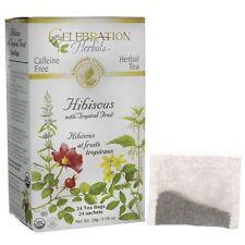 Celebration Herbals Organic Hibiscus with Tropical Fruit Tea 24 Bag