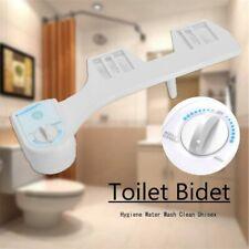 Cold Water Non Electric Toilet Seat Bidet Spray Nozzle Adjustable Wash Bathroom