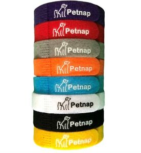 8x Petnap Whelping Adjustable Puppy ID Collars Kitten Collar Bands Breeder