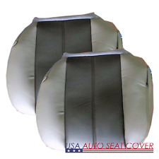 00- 02 GMC-Denali Extended D. P. Bottom Leather Seat Cover 2 Ton color GRAY 922