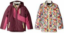Spyder Girls Reckon 3-In-1 Jacket, Ski Snowboarding Jacket, Size L (14/16 Kids)