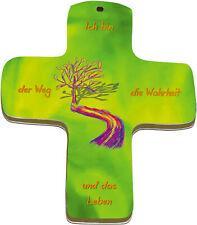 """Wand-Kreuz """"Ich bin der Weg, die Wahrheit und das Leben"""""""