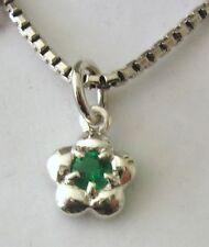 Unbranded Emerald Lab-Created/Cultured Fine Jewellery