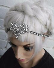 FUTURISTIC SPACE GIRL ALIEN BABE KAWAII PASTEL JFASHION GOTH CHAIN HEADBAND