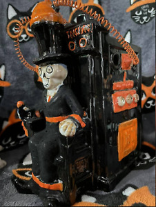 """Yankee Candle 2015 Boney Bunch Online Exclusive ELECTRIC CHAIR """"Spine Tingling"""""""
