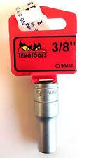 Teng Outils m380609-c avec 1cm MOTEUR 35860154 Douille profonde Hex 9mm