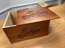 Empty Wine Crate Castillo Ygay Marques De Murrieta