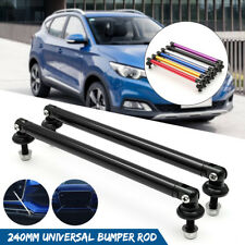 Adjustable Universal Front/Rear Bumper Lip Splitter Strut Brace Rod Support Bars