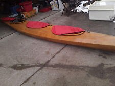 Fabulous Hand Crafted Ocean/Great Lakes custom made cedar 19ft kayak