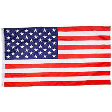 New listing 3'x 5' Ft Polyester Us Flag Usa American Stars Stripes United States Grommets