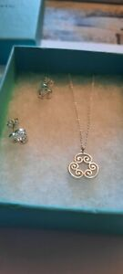 Tiffany & Co Goldoni Paloma Picasso Necklace And Earings Set