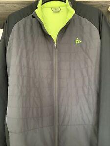 Craft Activewear Zip Jacket. XXL Size.