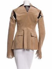 SMOKIN' HOT NWT $2,722 JUNYA WATANABE/COMME DES GARCONS SUEDE & LEATHER JACKET