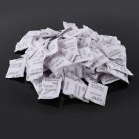 Silica Gel 1g 100 Packets Dehumidifier Bags Moisture Absorber Absorbent Dry Pack