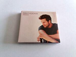 """PABLO ALBORAN """"TANTO"""" CD+DVD 14 TRACKS COMO NUEVO DIGIPACK EDICION ESPECIAL"""