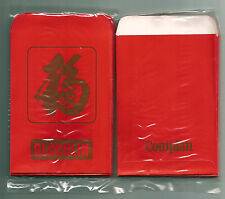GLUCOLIN COMPLAN Rare Vintage ANG POW RED PACKET x10pcs Original Plastic Packing