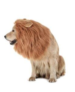 TOMSENN Dog Lion Mane Wig Size Large Pet Costume Halloween Adjustable
