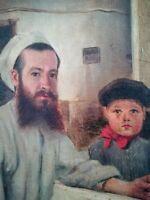 Gaston Pujol Hermann, Huile sur toile datée 1895