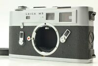 【NEAR MINT】 LEICA M5 Silver Chrome 35mm Rangefinder Film Camera From JAPAN