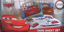 Disney PIXAR Cars 2 Twin Sheet Set Lightning McQueen