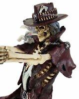 Gunslinger by James Ryman Grim Reaper Gothic Fantasy Statue Sculpture
