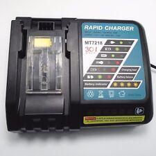 7.2V-18V  Battery Charger for Makita BL1830 BL1815 BL1430 DC14SA DC18SC DC18RC