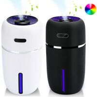 200ml Ultrasonic Humidifier Cool Mist Auto Shut-Off Quiet Light Color Changing