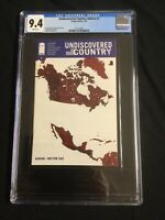 UNDISCOVERED COUNTRY #1 Rare Ashcan Edition(CGC 9.4)