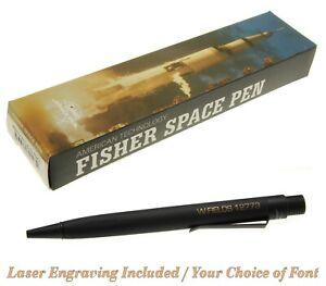 Personalized Matte Black Zero Gravity #ZGMB / Stealth By Fisher Space Pen