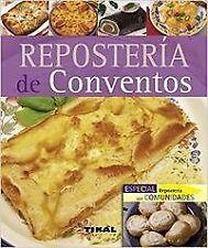 Repostería de conventos (Pequeños tesoros). ENVÍO URGENTE (ESPAÑA)