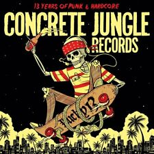 CONCRETE JUNGLE RECORDS - LUCKY 13: 13 YEARS OF PUNK & HARDCORE  CD NEW+