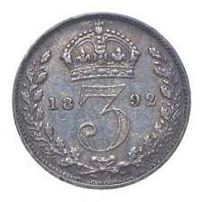 Better - 1892 Great Britain 3 Pence - TC *983