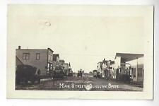 1925 Main Street Dundurn, Saskatchewan, Canada RPPC