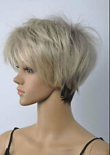 LMRA606 Sexy short Ladies blonde mixed brown Straigh wigs for women wig
