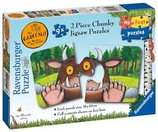 Ravensburger 06919 Gruffalo High Quality 9 x 2 Pieces Shaped Jigsaw Puzzles
