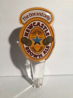 """Newcastle Summer Ale Beer Tap Handle 10/"""" Tall Bar Brewery Hops And Glory EUC"""