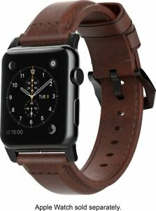 Nomad Classic Leather Watch Strap for Apple Watch 38mm Brown