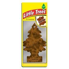 4 X pequeño árbol Mágico Coche Ambientador FRESHNER de cuero 2D